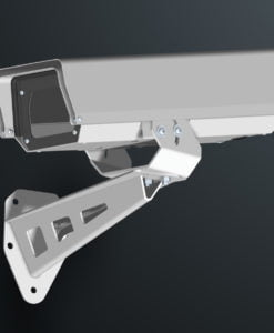 M03AL wall mount stainless steel weatherproof outdoor camera housing range by Security Design Australia.