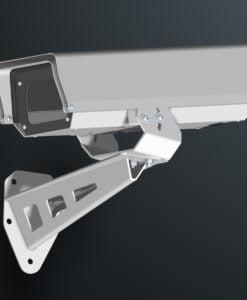 M03AL wall mount stainless steel weatherproof outdoor camera housing range by Security Design Australia.