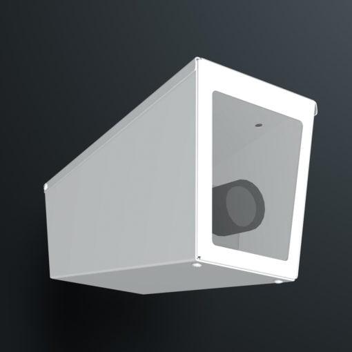 M04SW ceiling mount stainless steel weatherproof wedge camera housing range by Security Design Australia.