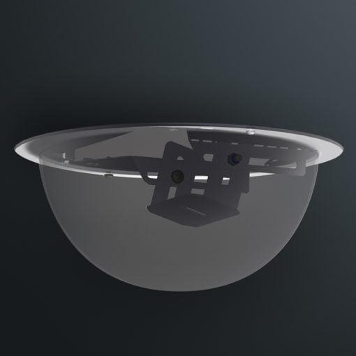 M06D250 ceiling mount dome camera housing range by Security Design Australia.