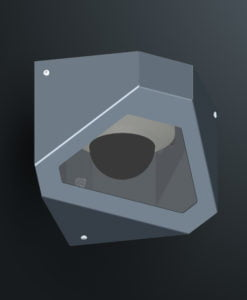 M10CS1 ceiling corner mount cell camera housing range by Security Design Australia.