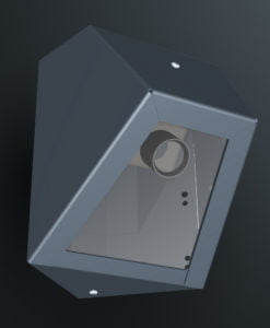 M10CS2 ceiling corner mount cell camera housing range by Security Design Australia.