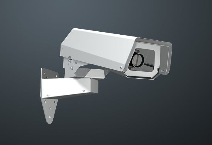 Security Design Co cctv camera housings for pole mount, wall mount, ceiling mount and corner mount applications. Designed and manufactured in Brisbane, Australia by Strongabuilt founder, Kevin Wilson