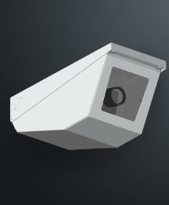 M04HD heavy duty wedge camera housing and M04HDSS heavy duty stainless steel wedge camera housing by Security Design Co are available in Australia.