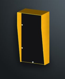 SERH3618 access control mounting panel for bollards is distributed in Australia by Security Design Co Australia.